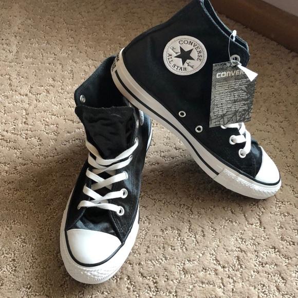 bb68b99276b8 New! Converse All Star black Velvet womens various